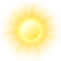graphical daytime weather view for Petra